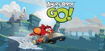 скачать Angry Birds Go мод много денег и кристаллов на андроид - фото 11