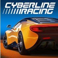 Скачать Cyberline Racing на Андроид [Мод, кэш]