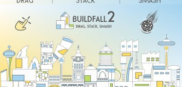 BuildFall 2: Drag, Stack, Smash