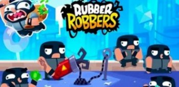 Rubber Robbers - Rope Escape